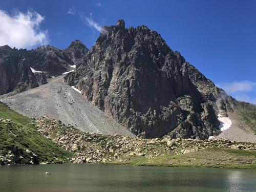 Pic du Midi d'Ossau from Pombie