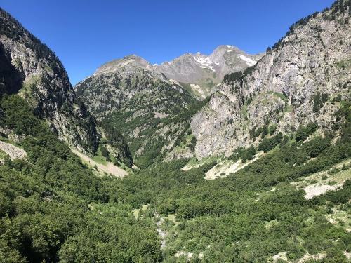 Views of the Valle de Agua Limpias