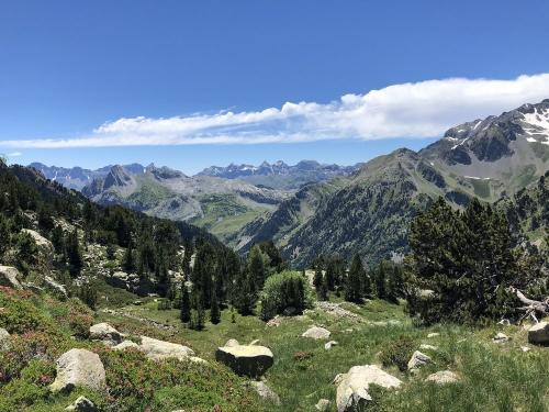 Views over the Valle de Tena