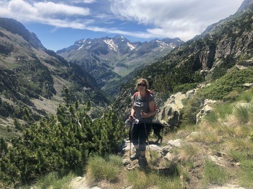 On the Ibones de Arriel hike