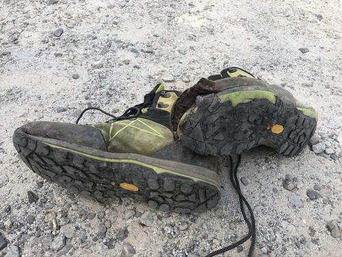 Broken boots....