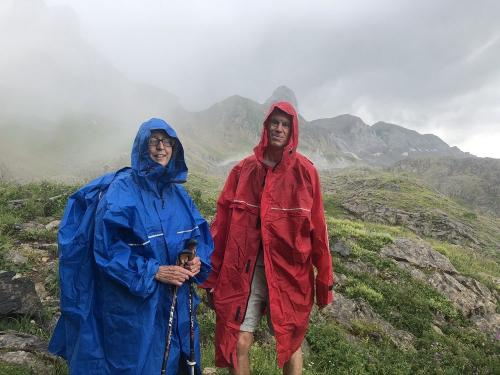 OK - we do sometimes get wet in the Pyrenees!
