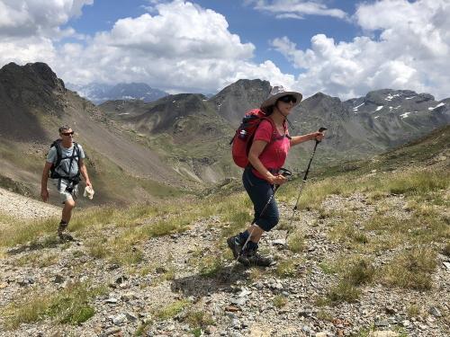 On the way to Pico de Catieras