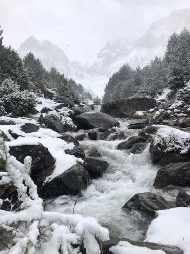 The stream on the way up to Ibon de Piedrafita