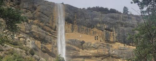 The waterfalls of santa Orosia