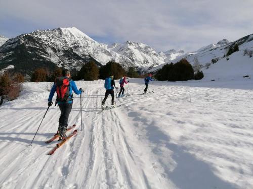 Ski touring Pyrenees style