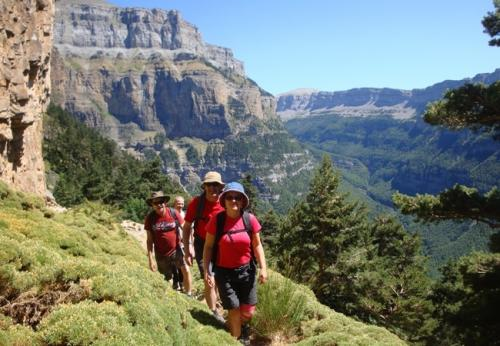 On the Faja Racon - this walk gives you a great idea of the scale of the cliffs