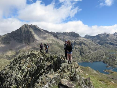 On top of Musales peak - day 5