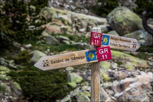 Sallent de Gállego to La Sarra follow the GR11