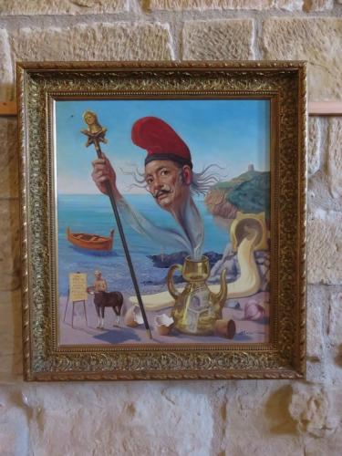 Salvidor Dali exhibition in Valderrobres