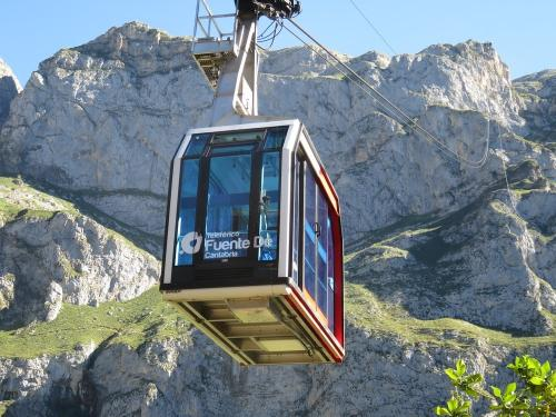 Fuente De cable car