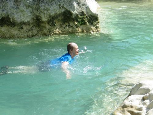 Swimming the Rio Vero