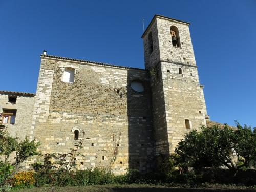 Lecina church