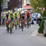 La Vuelta passing through Biescas