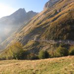 The beautiful descent from the Col d'Aubisque