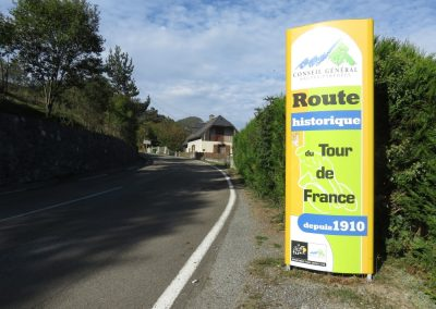 Col du Aspin - a historic col of the Tour de France