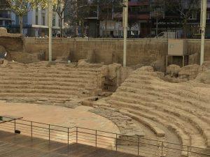 Roman amphitheatre Zaragoza