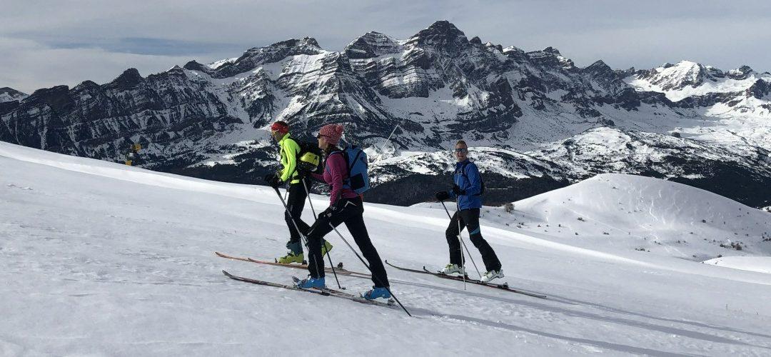 Ski touring at Panticosa