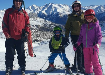 Skiing at Formigal