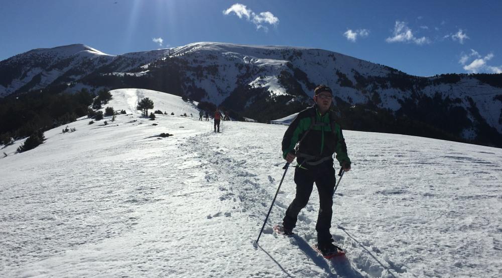Snowshoeing from Cotefablo to Toronzué (2263m)
