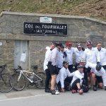We've survived the Col du Tourmalet!