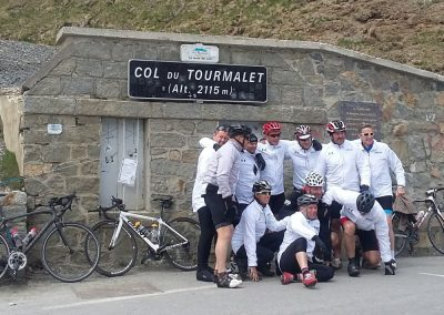We've survived the Col du Tourmalet!