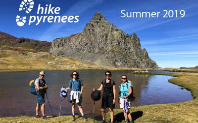 Summer 2019 hiking brochure